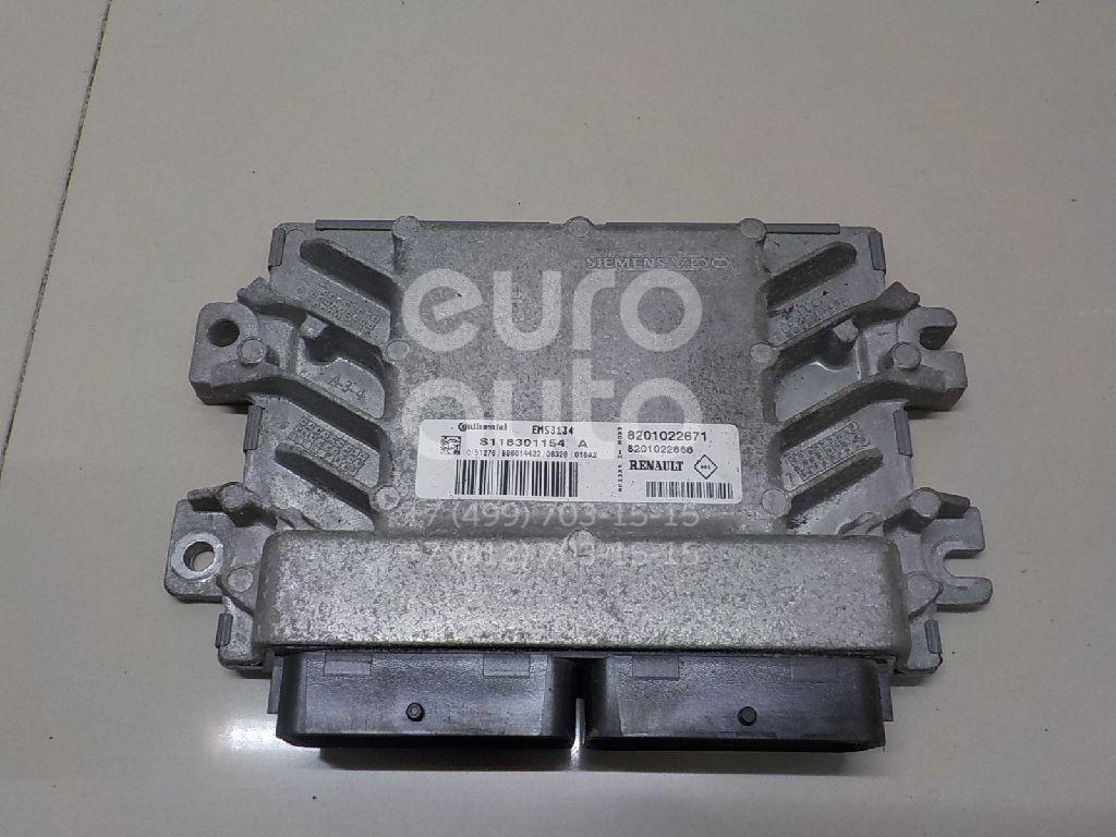 Купить Блок управления двигателем Renault Sandero 2009-2014; (8201022671)