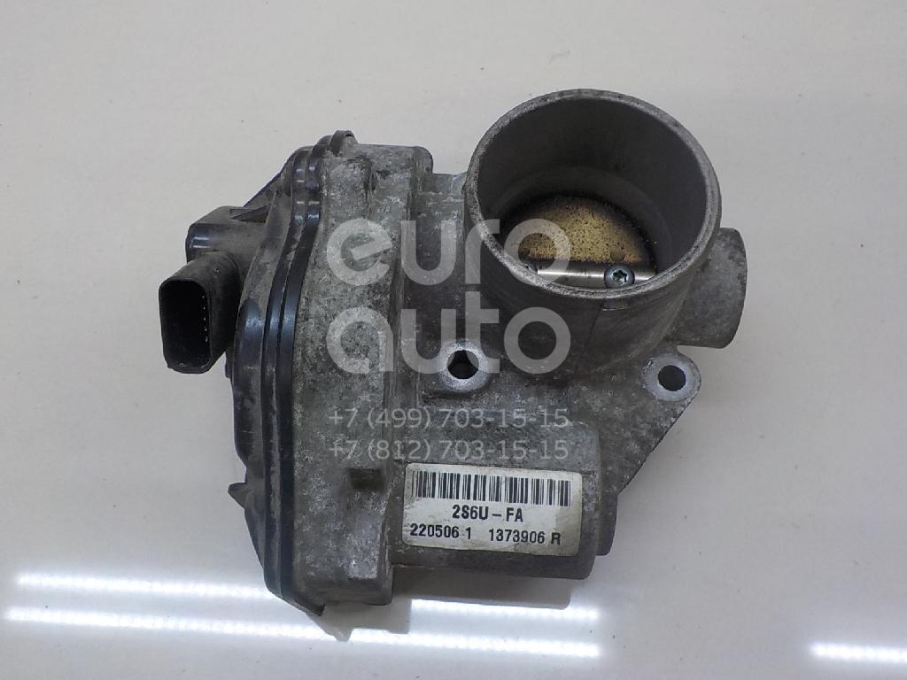 Заслонка дроссельная электрическая Ford Fiesta 2001-2008; (1505642)