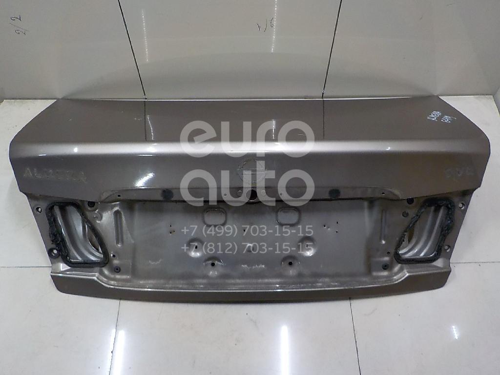 Купить Крышка багажника Nissan Almera N16 2000-2006; (843009M730)
