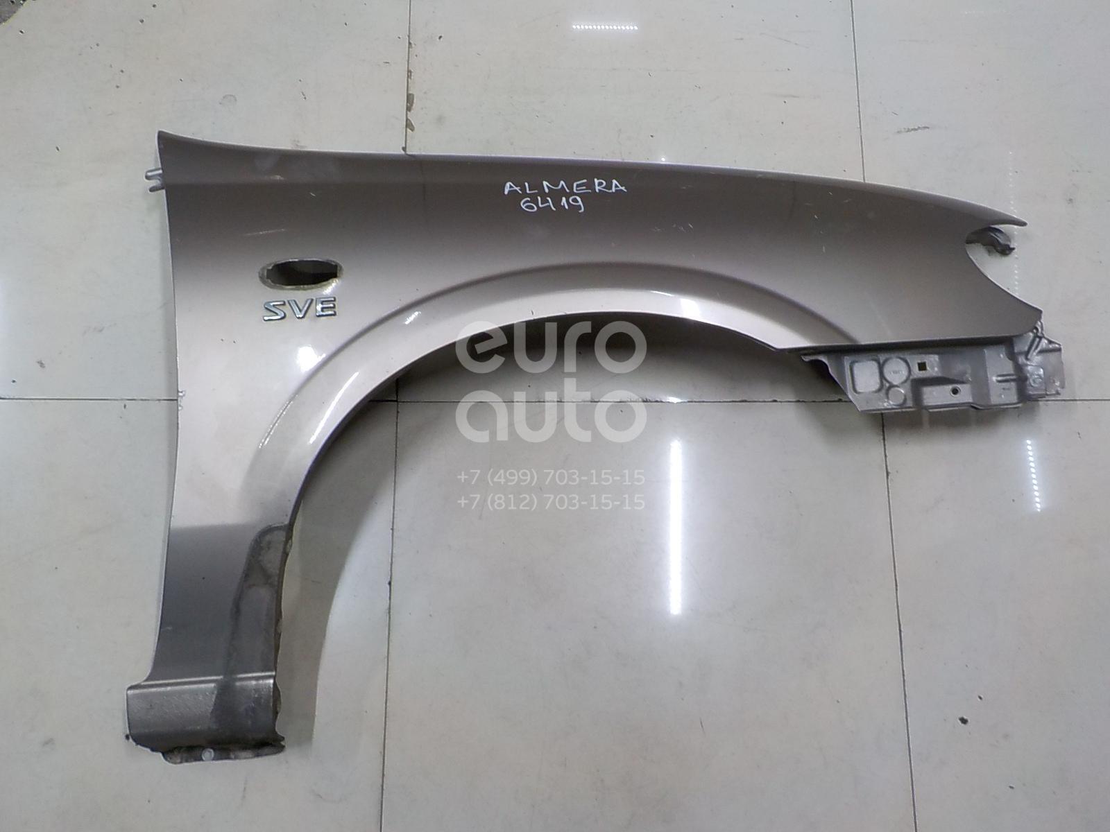 Купить Крыло переднее правое Nissan Almera N16 2000-2006; (63100BN730)