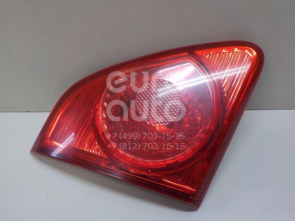 Купить Фонарь задний внутренний левый Toyota Corolla E15 2006-2013; (8159112100)