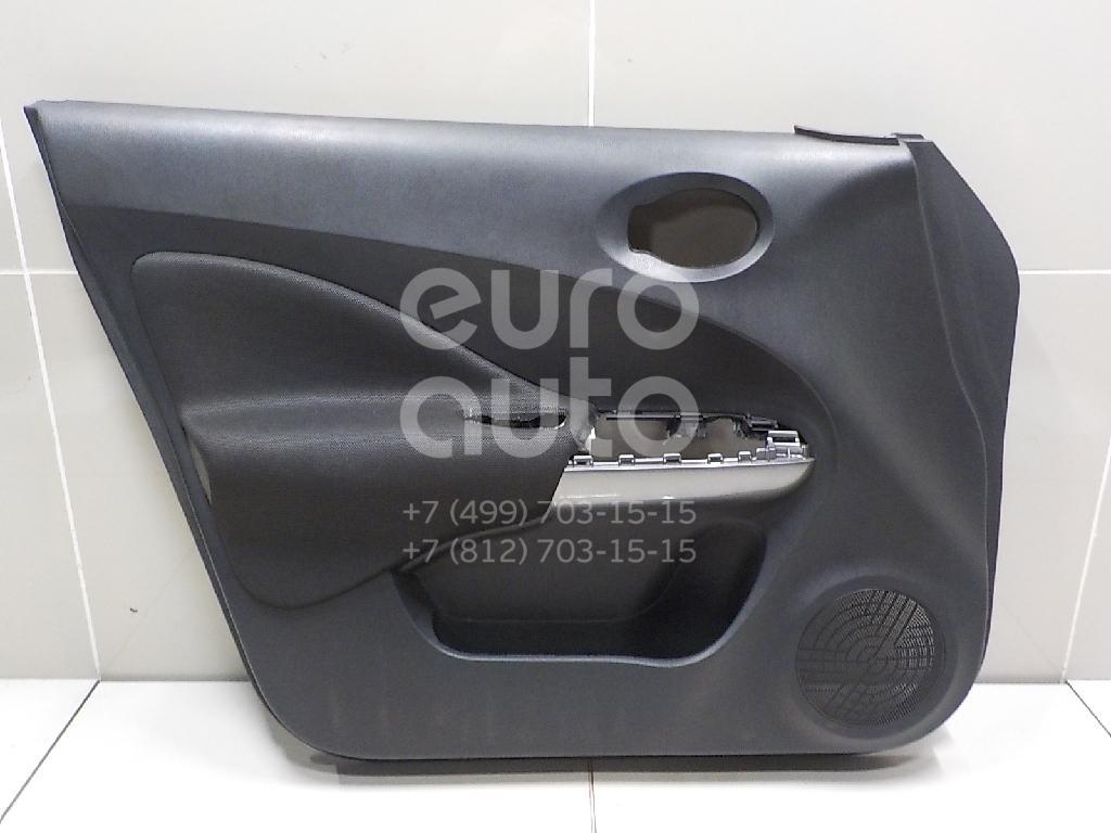 Купить Обшивка двери передней левой Nissan Juke (F15) 2011-; (809011KK1A)
