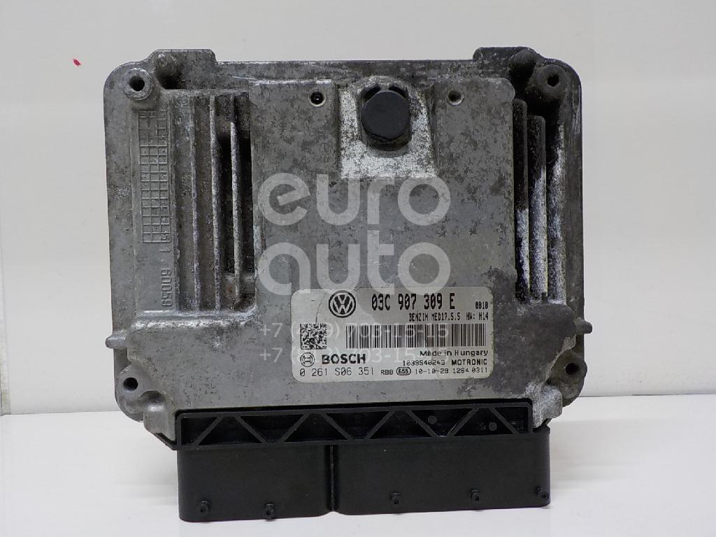 Блок управления двигателем VW Passat [B7] 2011-2015; (03C906016BF)