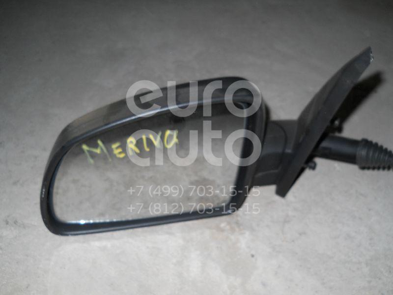 Зеркало левое механическое для Opel Meriva 2003-2010 - Фото №1