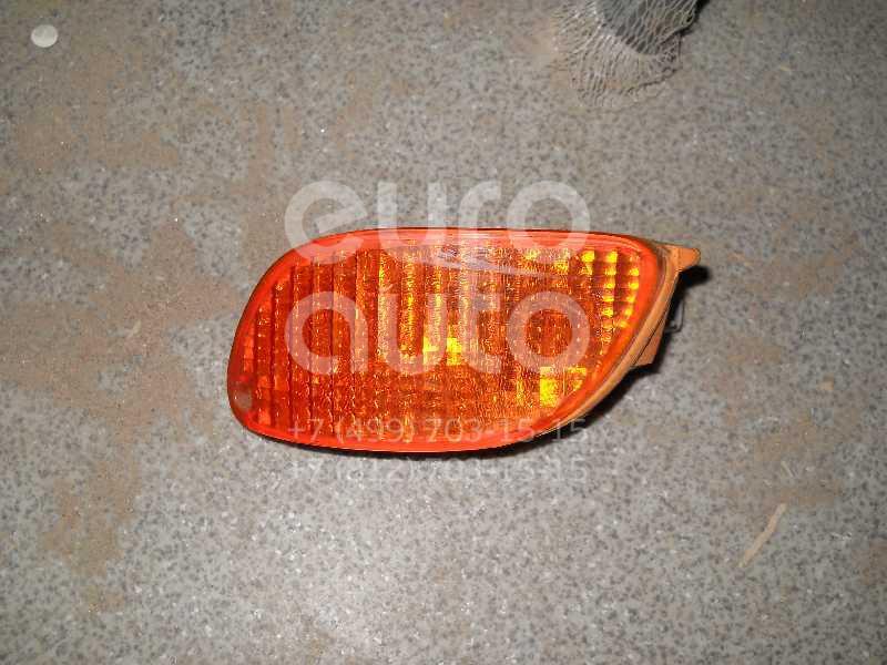 Указатель поворота в бампер левый желтый для Ford Focus I 1998-2005 - Фото №1