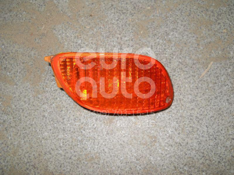 Указатель поворота в бампер правый желтый для Ford Focus I 1998-2005 - Фото №1
