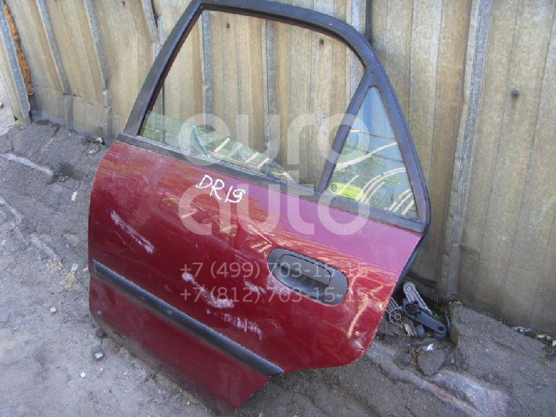 Дверь задняя левая для Mitsubishi Carisma (DA) 1995-1999 - Фото №1