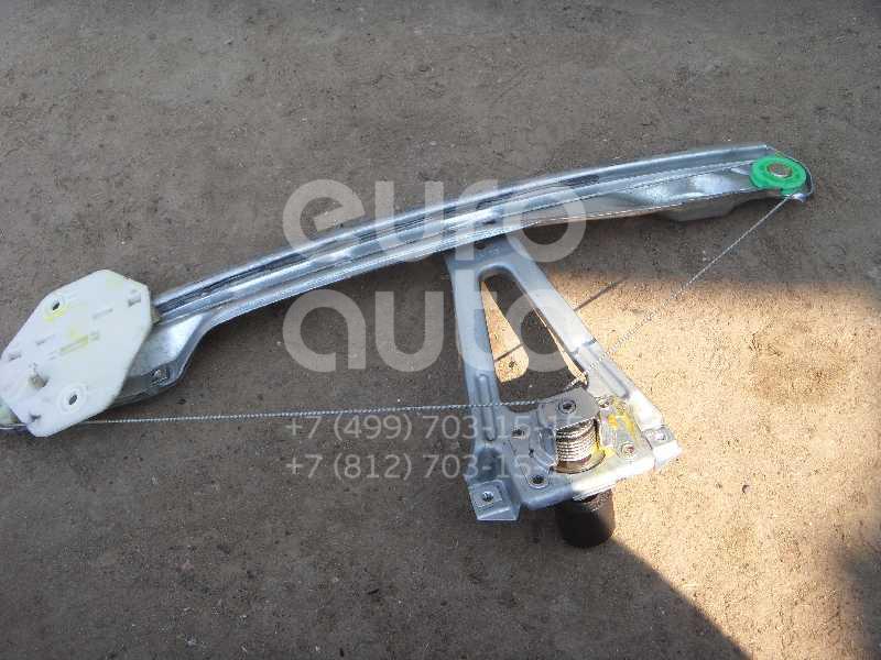 Стеклоподъемник механ. задний правый для Renault Clio/Symbol 1998-2008 - Фото №1