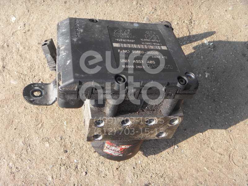 Блок ABS (насос) для Hyundai Sonata V (NEW EF) 2001> - Фото №1