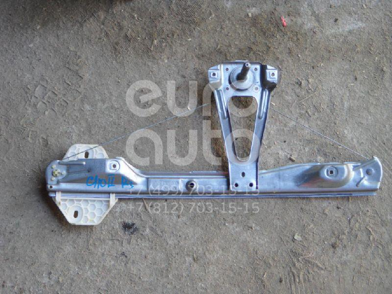 Стеклоподъемник механ. задний левый для Renault Clio/Symbol 1998-2008 - Фото №1