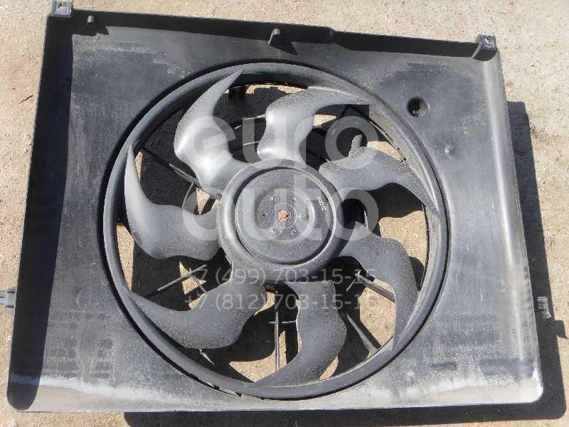 Вентилятор радиатора для Hyundai Sonata V (NF) 2005-2010 - Фото №1