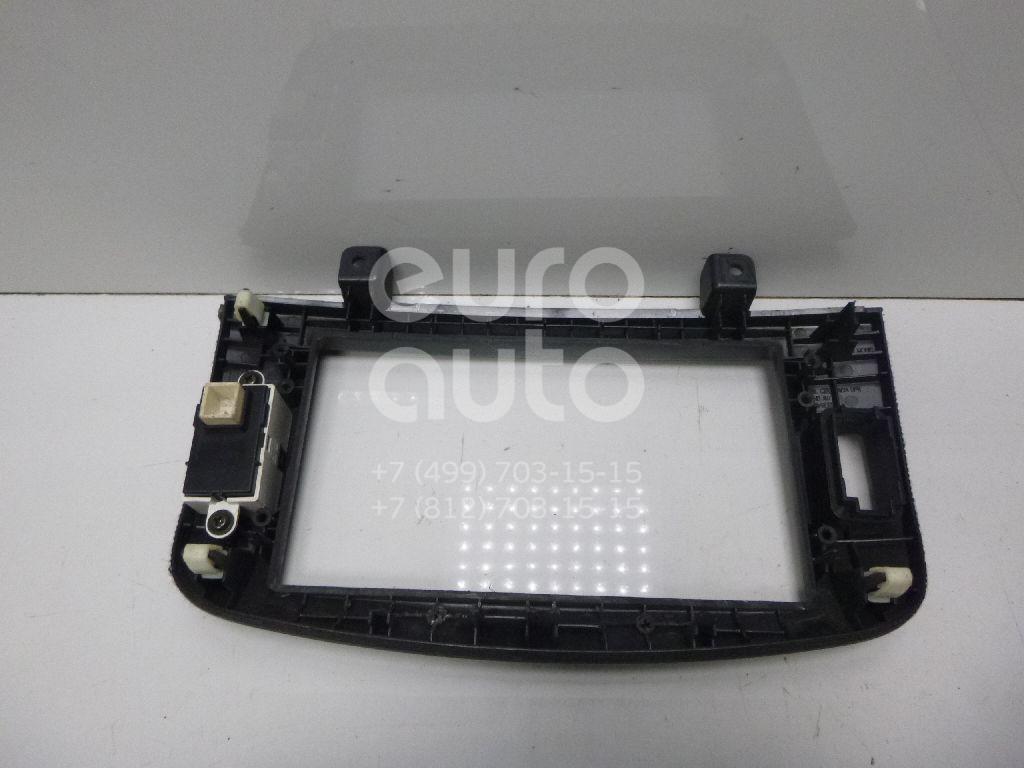 Рамка магнитолы для Hyundai Sonata V (NF) 2005-2010 - Фото №1