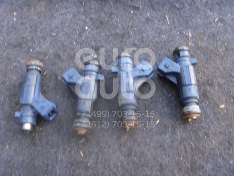 Форсунка инжекторная электрическая для Peugeot,Citroen 206 1998-2012;Xsara 2000-2005;306 1993-2003;Xsara Picasso 1999-2010 - Фото №1