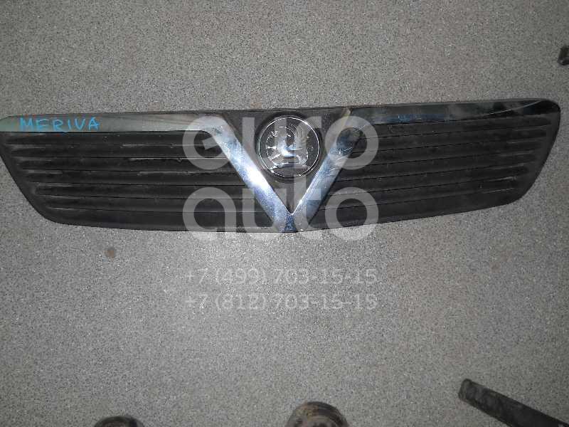 Решетка радиатора для Opel Meriva 2003-2010 - Фото №1