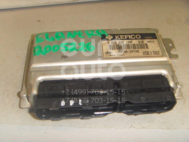 Блок управления двигателем для Hyundai Elantra 2000-2006 - Фото №1