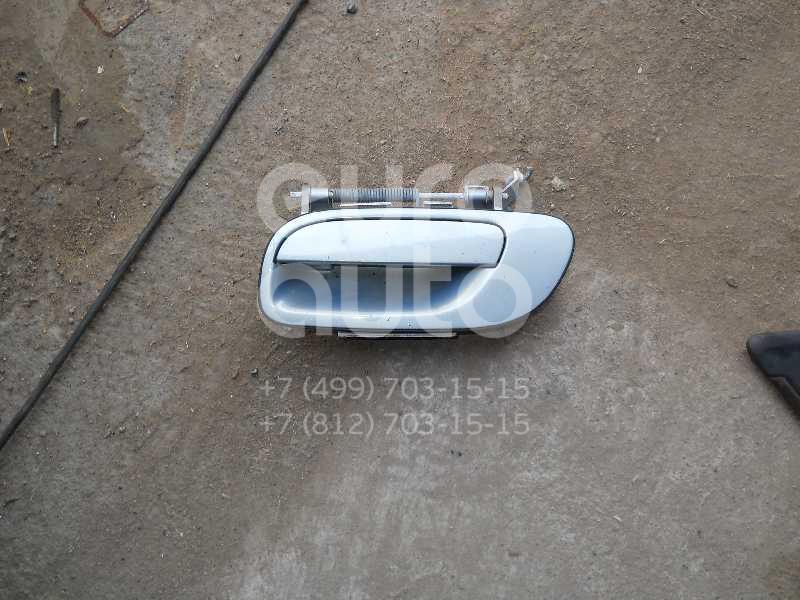 Ручка двери наружная левая для Volvo S80 1998-2006;V70 2001-2006;XC70 Cross Country 2000-2006;S60 2000-2009 - Фото №1
