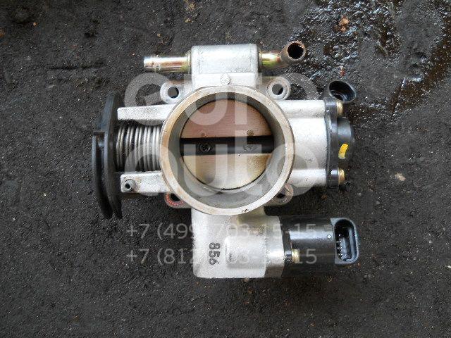 Заслонка дроссельная механическая для Chevrolet Aveo (T200) 2003-2008 - Фото №1