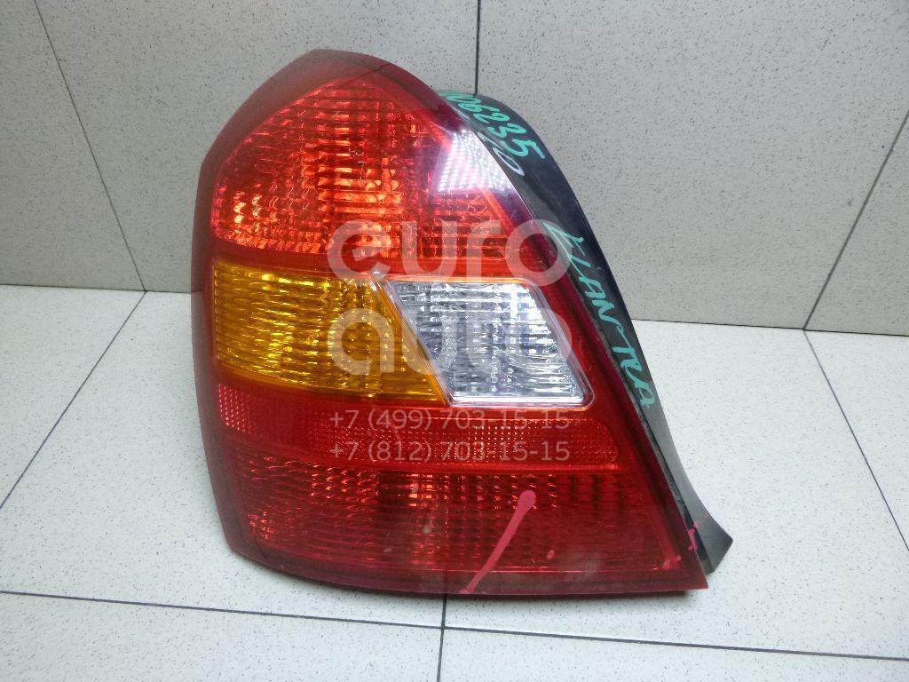 Фонарь задний левый для Hyundai Elantra 2000-2005 - Фото №1