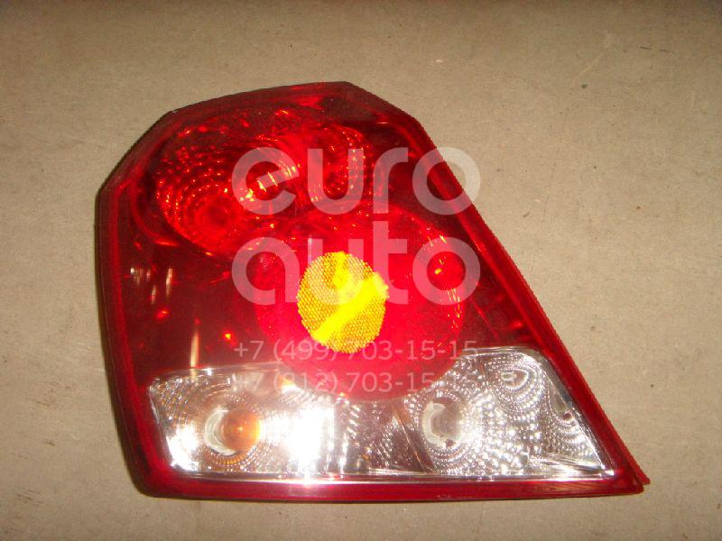 Фонарь задний левый для Chevrolet Aveo (T200) 2003-2008 - Фото №1