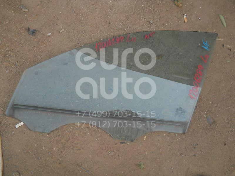Стекло двери передней левой для Hyundai Sonata V (NF) 2005-2010 - Фото №1