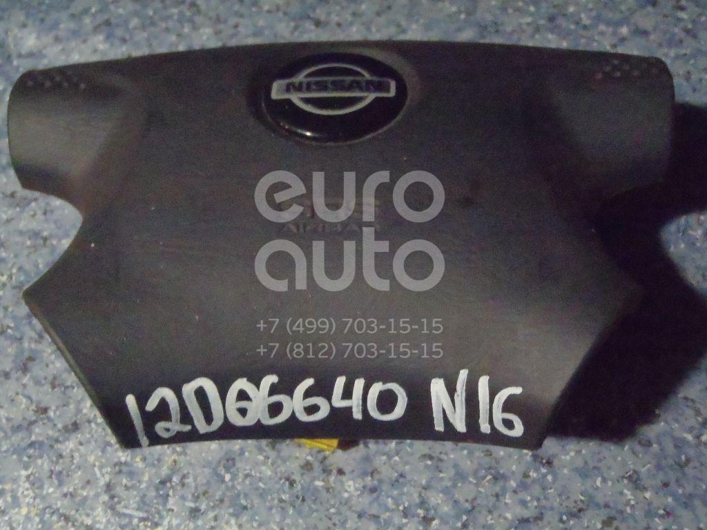 Подушка безопасности в рулевое колесо для Nissan Almera N16 2000-2006 - Фото №1