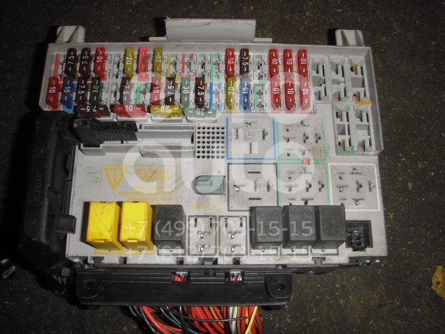 Блок предохранителей для Opel Astra G 1998-2005 - Фото №1
