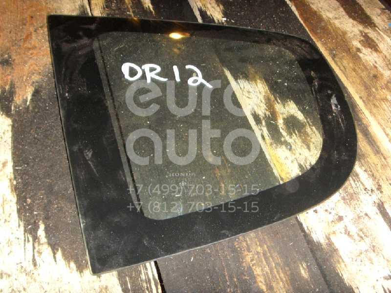 Стекло кузовное глухое левое для Honda Jazz 2002-2008 - Фото №1