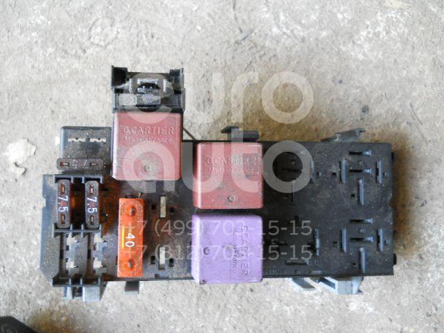 Блок предохранителей для Renault Scenic 2003-2009 - Фото №1