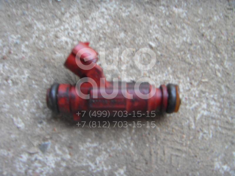 Форсунка инжекторная электрическая для Nissan Primera P12E 2002-2007;Primera WP11E 1998-2001;Primera P11E 1996-2002;Almera Tino 2000-2006;Almera N16 2000-2006 - Фото №1