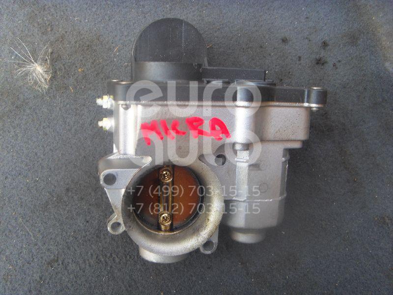 Заслонка дроссельная электрическая для Nissan Micra (K12E) 2002-2010 - Фото №1