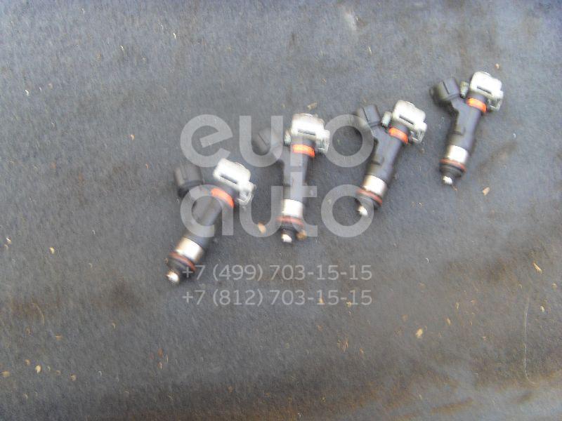 Форсунка инжекторная электрическая для Nissan Micra (K12E) 2002>;Note (E11) 2006-2013 - Фото №1