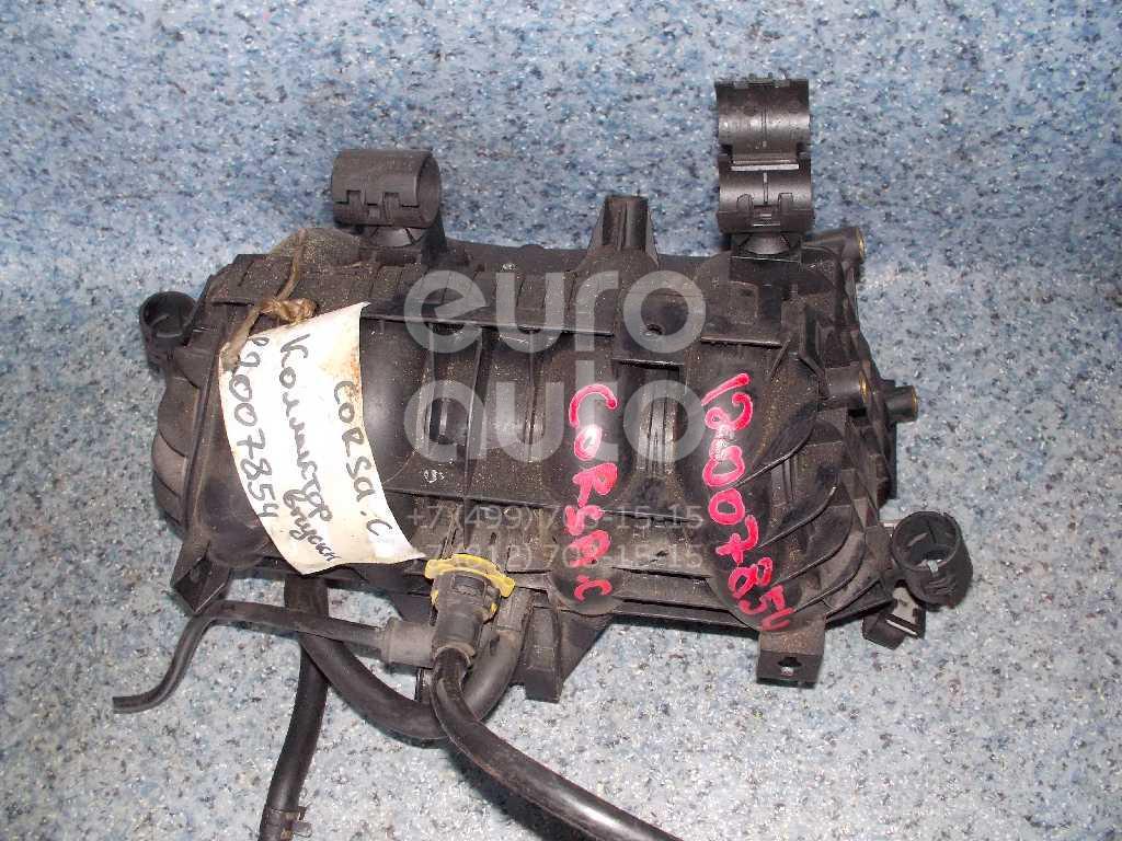Коллектор впускной для Opel Corsa C 2000-2006;Astra G 1998-2005;Agila A 2000-2008;Zafira A (F75) 1999-2005 - Фото №1