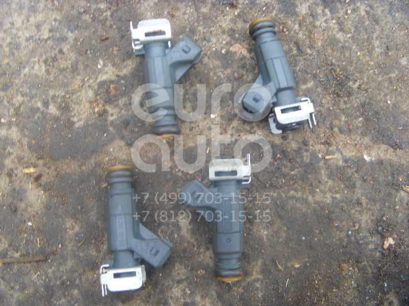 Форсунка инжекторная электрическая для Opel Corsa C 2000-2006;Astra G 1998-2005;Agila A 2000-2008;Zafira (F75) 1999-2005 - Фото №1
