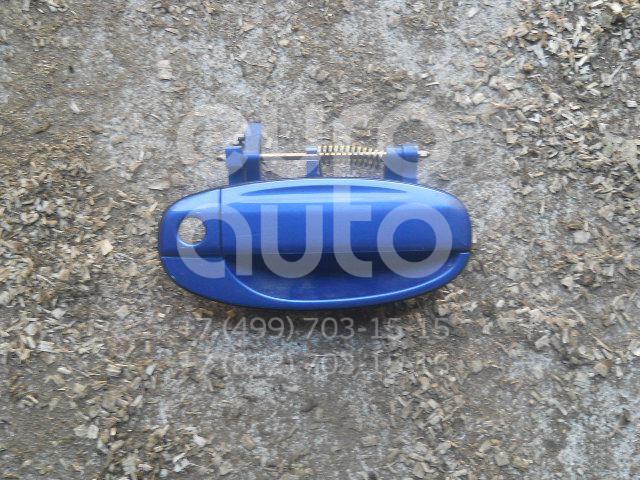 Ручка двери передней наружная правая для Chevrolet Aveo (T200) 2003-2008;Aveo (T250) 2005-2011 - Фото №1