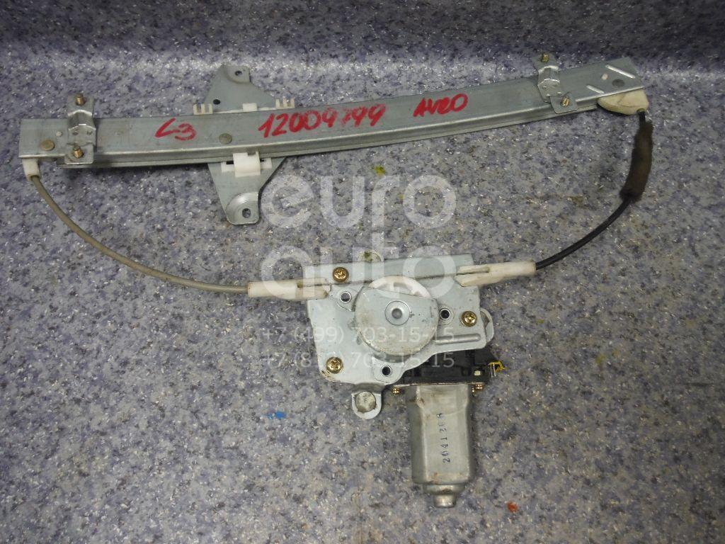 Стеклоподъемник электр. задний левый для Chevrolet Aveo (T200) 2003-2008 - Фото №1