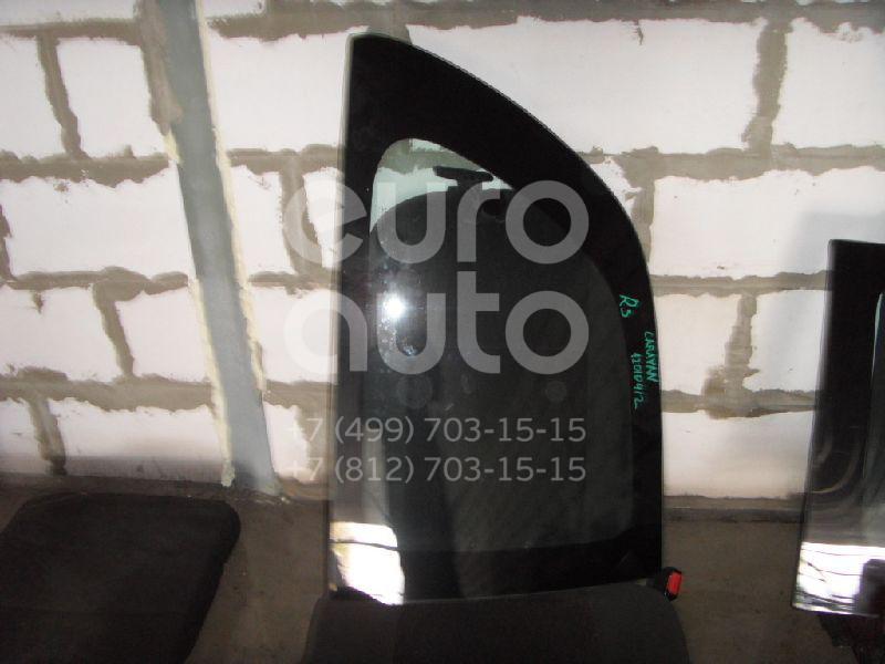 Стекло кузовное открывающееся (форточка) правое для Chrysler Voyager/Caravan 1996-2001 - Фото №1