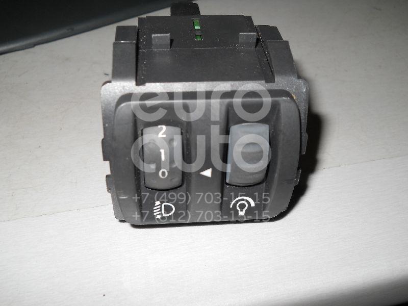 Кнопка корректора фар для Renault Scenic 2003-2009;Megane II 2002-2009;Clio III 2005-2012 - Фото №1