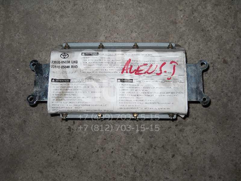 Подушка безопасности пассажирская (в торпедо) для Toyota Avensis I 1997-2003 - Фото №1