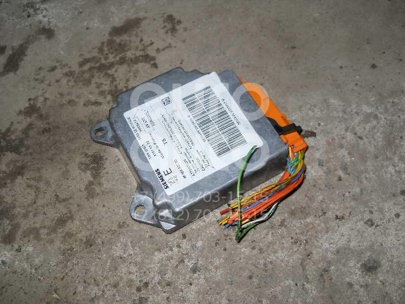 Блок управления AIR BAG для Peugeot 307 2001-2008 - Фото №1