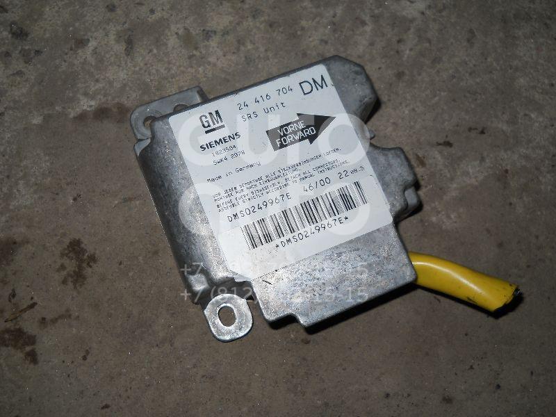 Блок управления AIR BAG для Opel Zafira A (F75) 1999-2005 - Фото №1