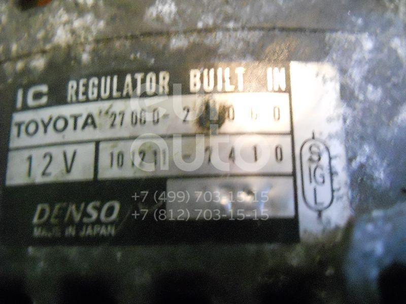 Генератор для Toyota Avensis I 1997-2003;RAV 4 2000-2005 - Фото №1