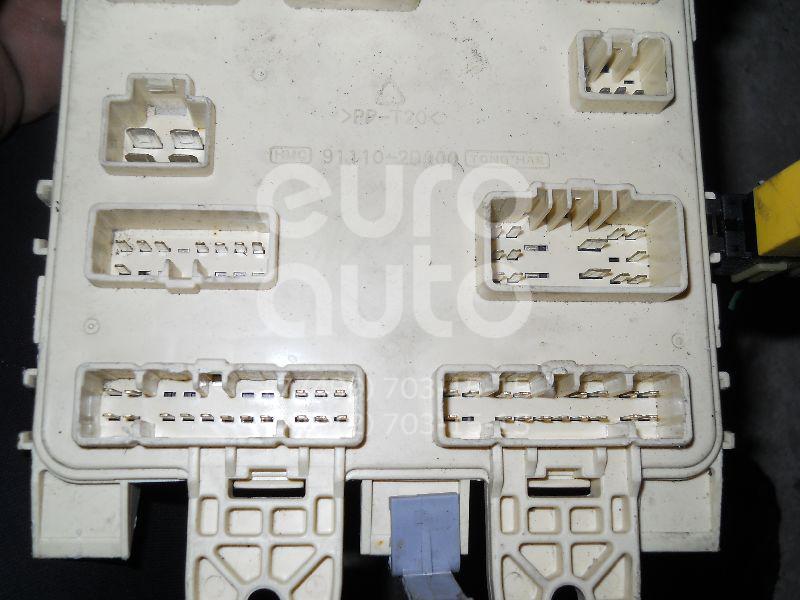 Блок предохранителей для Hyundai Elantra 2000-2006 - Фото №1