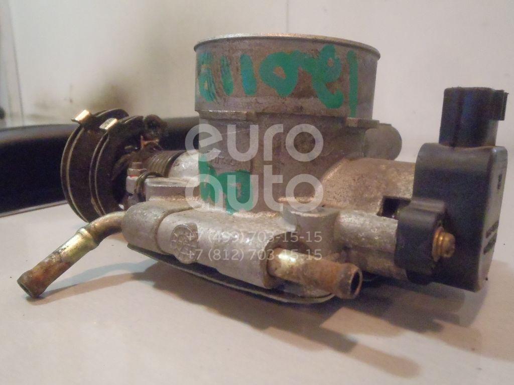 Заслонка дроссельная механическая для Subaru Legacy Outback (B12) 1998-2003 - Фото №1