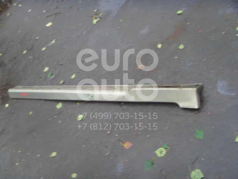 Накладка на порог (наружная) для Subaru Legacy Outback (B12) 1998-2003 - Фото №1