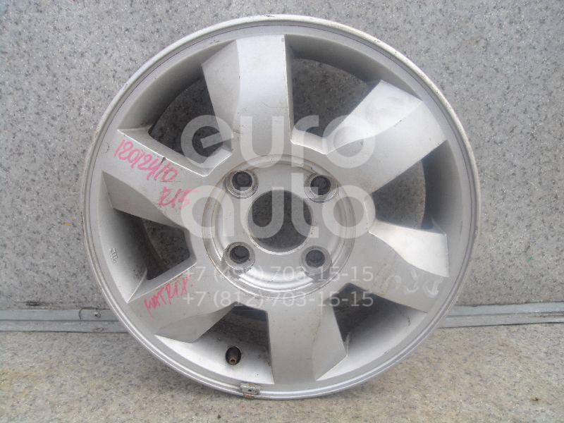 Диск колесный легкосплавный для Hyundai Matrix 2001-2010 - Фото №1