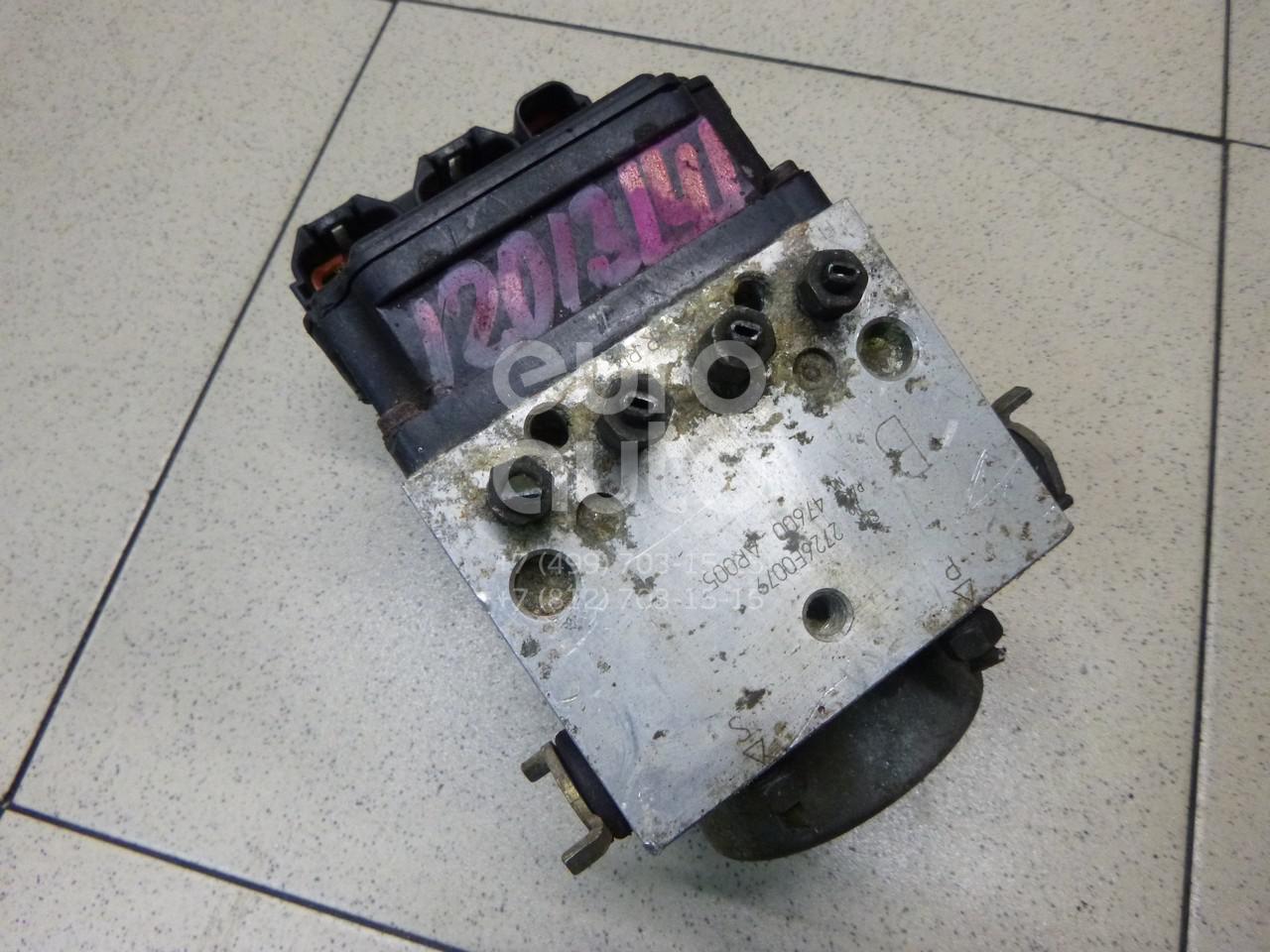 Блок ABS (насос) для Nissan X-Trail (T30) 2001-2006 - Фото №1