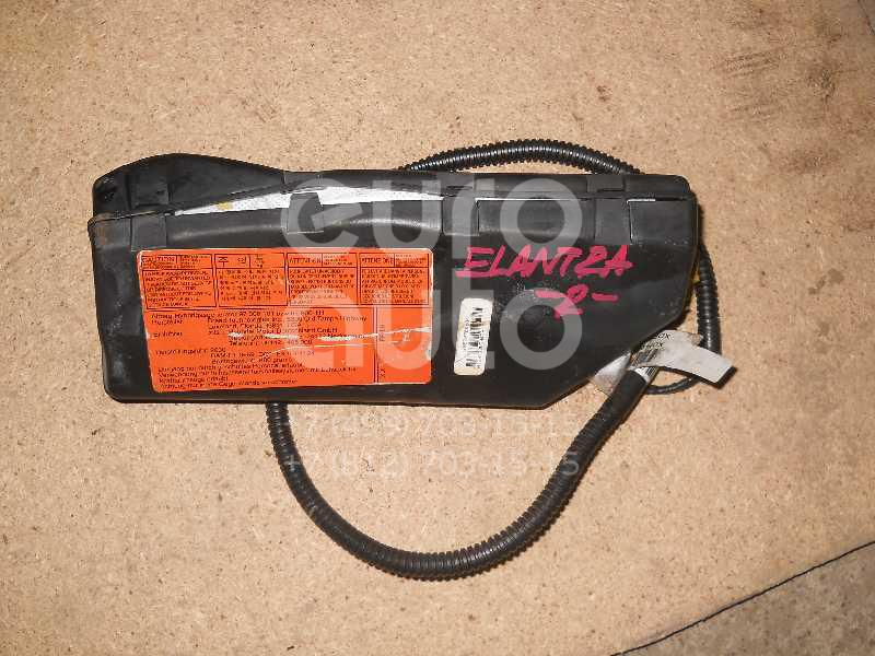 Подушка безопасности нижняя (для колен) для Hyundai Elantra 2000-2005 - Фото №1