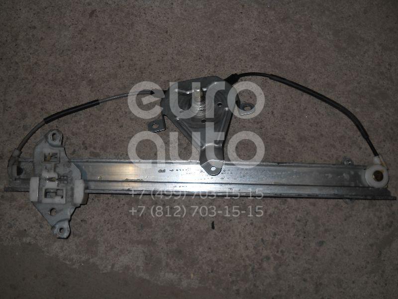 Стеклоподъемник механ. передний левый для Nissan Almera N15 1995-2000 - Фото №1