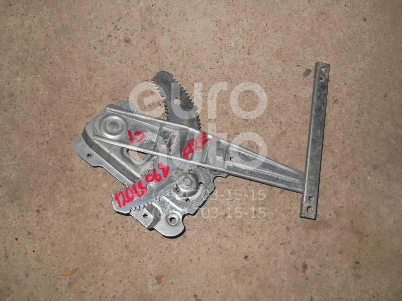 Стеклоподъемник механ. задний левый для Nissan Micra (K12E) 2002-2010 - Фото №1