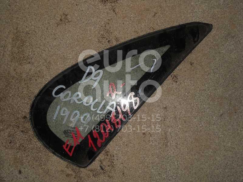 Стекло кузовное глухое правое для Toyota Corolla E11 1997-2001 - Фото №1